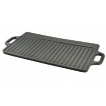 Öntöttvas grill lap 2 oldalas 51*24 cm