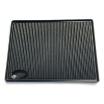 Öntöttvas grill lap 44 x 31,5 cm
