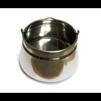 Halfőző bogrács 16 literes, rozsdamentes (1,5 mm)