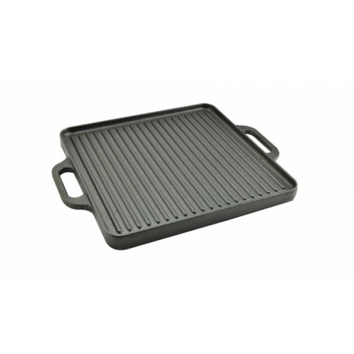 Öntöttvas grill lap 2 oldalas 42*42 cm
