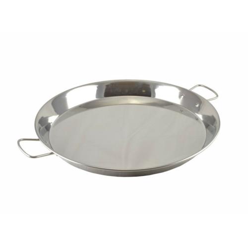 Rozsdamentes paella sütőtál 47 cm